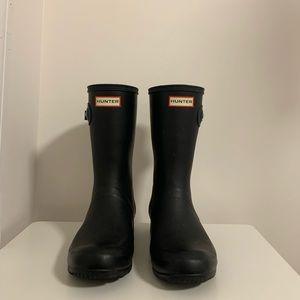 Tall black Hunter boots!